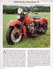 1948 Harley Davidson FL Article - Must See !!