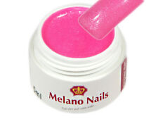Glitter UV Gel Made in Germany 5ml Glitter Pearly Pink