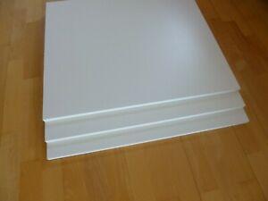 Holzboden Platten Fachboden Einlegeboden für Schränke Regale Weiß