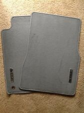 NEW NOS 2007 FORD MUSTANG SHELBY GT GRAY CARPETED FRONT FLOOR MATS - ORIGINAL!!!