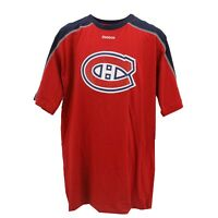 Montreal Canadiens Official NHL Reebok Apparel Kids Youth Size T-Shirt New Tags