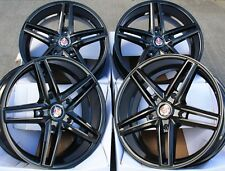 "ALLOY WHEELS X 4 20"" BLACK AXE EX14 FOR FORD TRANSIT TOURNEO SPORT 5x160"