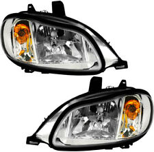 Headlights Headlight Assembly NEW Set PAIR for 02-11 Freightliner M2 100 106 112