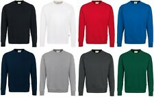 weiss Hakro Sweatshirt  Art.470  Klassisches Sweatshirt  Größe L