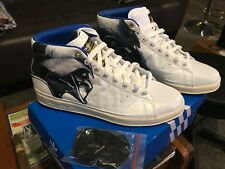 Men's original Adidas star wars Darth Vader stan Smith high top white 11