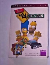SIMPSONS HIT AND RUN LIMITED EDITION for PLAYSTATION 2 VERY RARE & HARD TO FIND