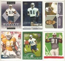 Albert Haynesworth Tennessee Titans 6 card 2002 RC lot-all different
