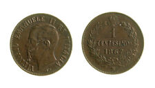 s288_49)  Vittorio Emanuele II (1861-1878)  1 Centesimo Valore 1867 M