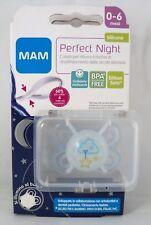 MAM Perfect Night Succhietto mesi 0-6 ciuccio azzurro nuvola si illumina al buio