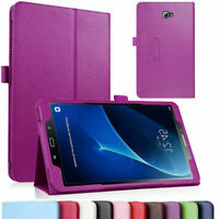 "For Samsung Tab A 10.1 8.0"" E 9.6"" PU Leather Flip Stand Protection Case Cover"