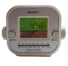 Sony Dream Machine FM/AM Clock Radio (Model ICF-C180)