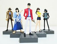 Lupin the Third Figures Complete Set Lupin Jigen Goemon Fujiko Zenigata Japan