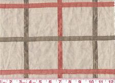 Overstock - P Kaufmann Sheer Drapery Fabric Metallic Grid CL  Copper