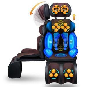 Shiatsu Electric Full Body Massage Chair Zero Gravity W/heat & Leg Extension