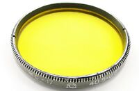 Russian Yellow Y-17 Lens Filter 40.5mm Jupiter-3 8 11 12 Industar-61 L/D 26m #12