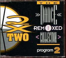 2 X TWO - THE DANCE REMIXED COLLECTION - REMIXES - PROGRAM 2 - CD MAXI [1073]
