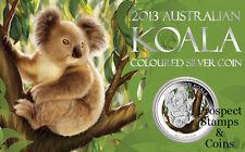 2013 Australian Koala COLOURED 1oz Silver Coin
