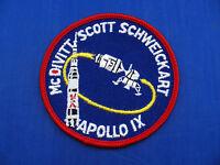Vintage Lion Brothers Apollo 9 (IX) Patch Mint or Near Mint NASA