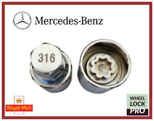 New Mercedes Benz Locking Wheel Nut Key Number 316 - UK Seller