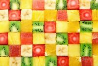 A1 | Fruit Salad Poster Art Print 60 x 90cm 180gsm Healthy Food Diet Gift #8670