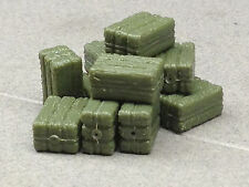 1/64 ERTL FARM COUNTRY 12 PC. SMALL SQUARE HAY BALES