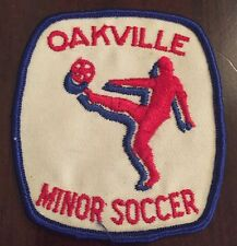 1980's Oakville Ontario Minor Soccer Club Patch
