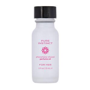 Pure Instinct For Her Pheromone Sex Attractant Perfume Oil for Women