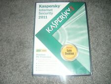 Kaspersky Lab Internet Security 2011 - Premium PC Protection - Sealed BRAND NEW