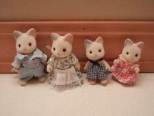 CALICO CRITTERS Sylvanian Family 4pc Whiskers Cat Family