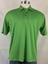 IZOD C-Cool Men's Green Short Sleeve Golf Polo Shirt LARGE
