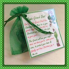 Polvere Magica Grinch-Vigilia di Natale Attività-tradizione-Santa polvere.