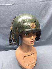 Rare VIETNAM USMC GENTEX MC-1 Tanker Helmet Painted KOREA Or Vietnam