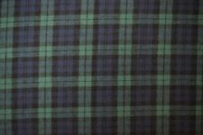 "Cotton Flannel Plaid Tartan Fabric By The Yard # 5 - 60""W"