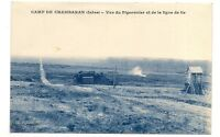 camp de chambaran  vue du pigeonnier et de la ligne de tir