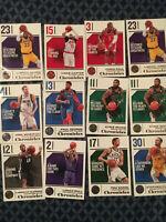 2018-19 Chronicles NBA Basketball Base Singles (complete your set pick card)