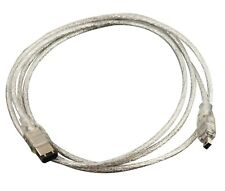 6 to 4 Pin IEEE 1394 Firewire iLink Adapter Cable 3 FT  PC MAC DV c15