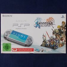 PSP - Playstatio​n Portable ► Lite Dissidia Final Fantasy Pack Mystic Silver ◄