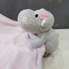Tesco Florence Fred F&F Hippo Blankie Blankie Blanket Doudou Soft Soother.