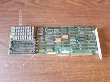 1989 JE1084 Memory Expansion Card ISA Vintage Computer Board Dip Switch RAM