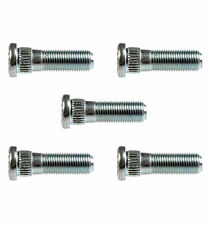 Replacement Wheel Studs - Serrated - Threads: M12-1.25 - Length: 42mm - Set of 5