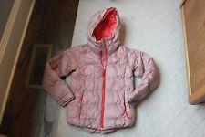Kids Sz 12 Eddie Bauer EB550 FILL POWER Premium Goose Down Hooded Coat Jacket