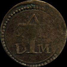 Tanga Goa  Malaca 1631-1638 India Portuguese Colony Filipe III Rare silver coin