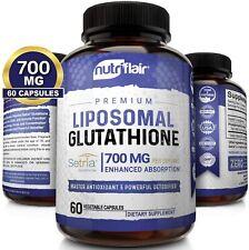 Liposomal Glutathione Setria 700mg 60 Caps Master Liver Detox Antioxidant