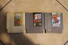 Nintendo Entertainment System Classic Game Lot Super Mario (2), Legend of Zelda