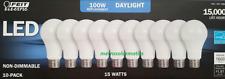 NEW Feit Electric 10-Pack Daylight 100W LED Light Bulbs