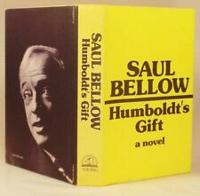 Saul Bellow, HUMBOLDT'S GIFT, Signed, 1st/1st w/ points