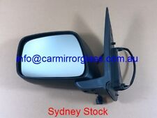 NEW DOOR MIRROR FOR NISSAN NAVARA D40 2005-2015 LEFT SIDE (ELECTRIC, BLACK)