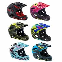 MET Parachute Full Face Enduro/MTB/Mountain/DH Bike/Biking Crash Helmet/Lid