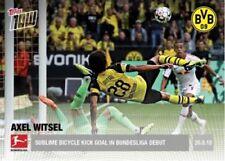 2018 Topps Now Bundesliga AXEL WITSEL #4 Borussia Dortmund Print Run 107