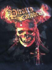 Black Authentic Disney Pirates of the Caribbean Evening Hand bag Purse Satchel